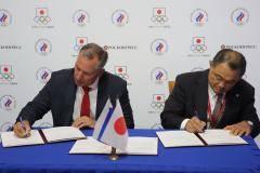 Состоялось подписание Меморандума о сотрудничестве между Олимпийскими комитетами России и Японии