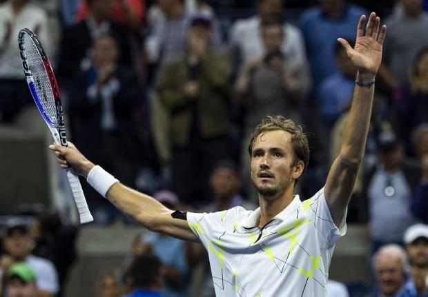 Медведев – первый после Сафина. Россиянин вышел в финал US Open