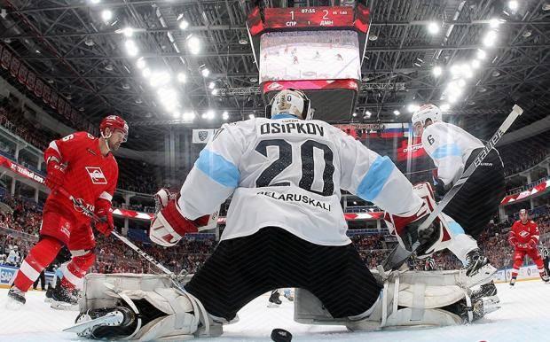 Проиграли в открытый хоккей. Почему «Спартак» уступил минскому «Динамо»