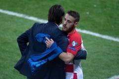 Влашич забил дебютный мяч за Хорватию, Барриос сдержал Неймара (видео)