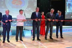 Состоялось открытие Сибирского регионального центра фехтования Станислава Позднякова
