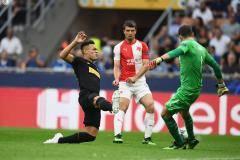 «Интер» вырвал ничью у «Славии» в концовке матча