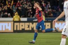 ЦСКА и «Краснодар» снова «дали пять». Только на двоих