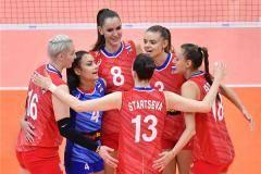 Россия в трех сетах победила Аргентину на Кубке мира