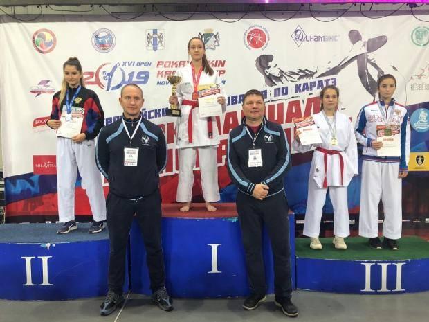 Сахалинские каратисты стали вторыми на всероссийских соревнованиях в Новосибирске