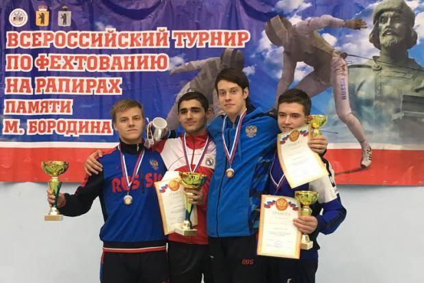 Рапиристы Санкт-Петербурга отличились на Всероссийском турнире по фехтованию