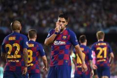 «Барселона» одержала волевую победу над «Интером»