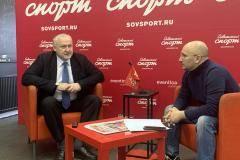Юрий Ганус – гость пресс-центра «Советского спорта»