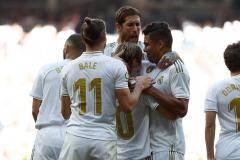 Голы Азара и Модрича помогли «Реалу» обыграть «Гранаду»