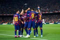 «Барселона» разгромила «Севилью»