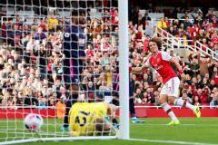 «Арсенал» на своем поле обыграл «Борнмут»