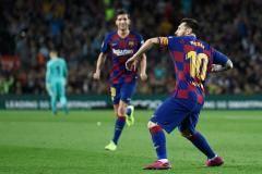 Месси расчехлил пушку. «Барселона» разгромила «Севилью» (видео)