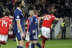 Сборная России разгромила Шотландию, одержав шестую победу подряд
