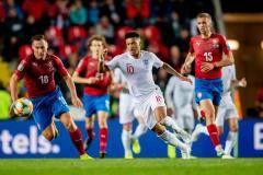 Сборная Чехии одержала волевую победу над Англией в отборочном матче к Евро-2020