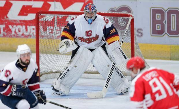 Петр Чех теперь хоккейный вратарь. У него очень неплохо получается