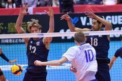 Россия проиграла США в предпоследнем матче на Кубке мира