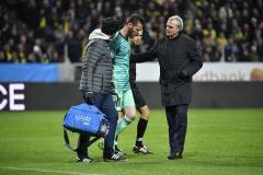 Де Хеа получил травму в матче за сборную