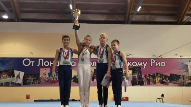 Спортивные гимнасты Татарстана завоевали «золото» на Первенстве ПФО