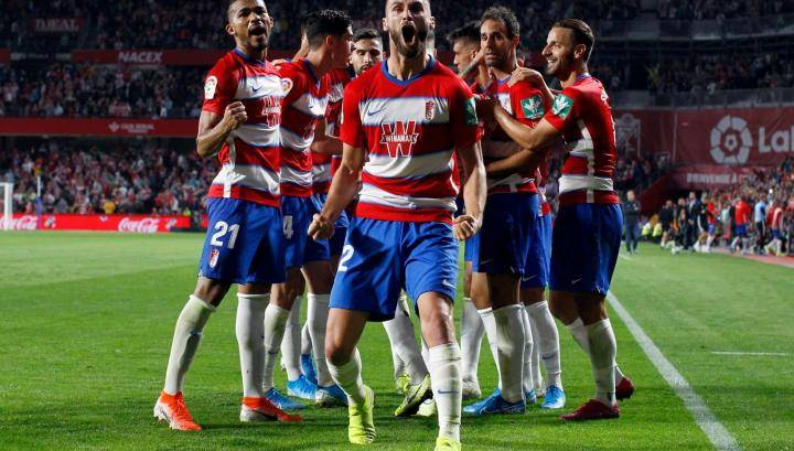 «Гранада» обыграла «Осасуну» и вышла на второе место в турнирной таблице примеры