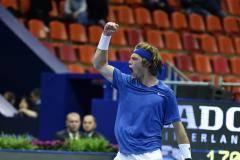 Горе для Егора. Рублев обыграл Герасимова и вышел в четвертьфинал «Кубка Кремля»