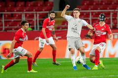 «Спартак» не смог обыграть «Рубин» в первом матче Тедеско на посту главного тренера