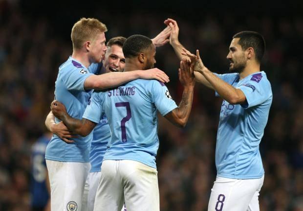 «Манчестер Сити» разгромил «Аталанту». Стерлинг оформил хет-трик