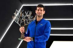 Джокович выиграл турнир серии «Мастерс» в Париже