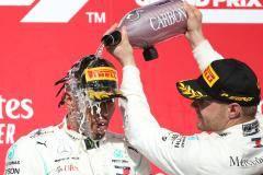 Боттас выиграл Гран-при США, Хэмилтон оформил чемпионство, Квят – 12-й
