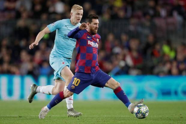 «Барселона» не смогла обыграть «Славию» на «Камп Ноу»