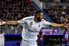 Дубль Бензема помог «Реалу» разгромить «Эйбар»