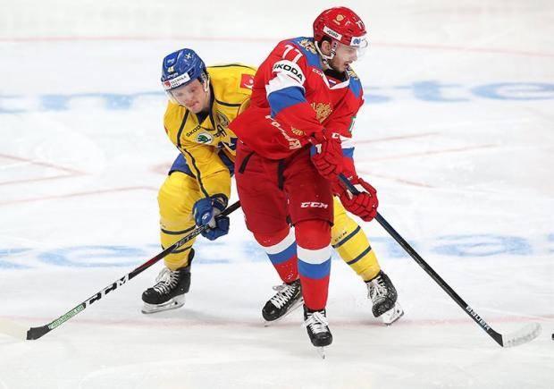 Первая победа Кудашова. Сборная России одолела шведов