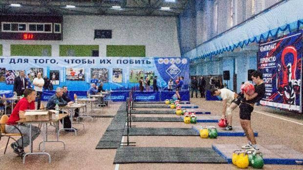 В Зеленодольске прошел чемпионат и первенство РТ по гиревому спорту