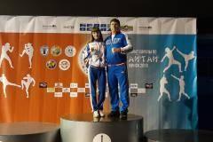 Анастасия Колосова завоевала титул сильнейшей тайбоксерши Европы