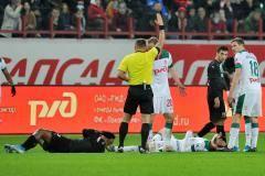 Александр Егоров: Нанести травму лбом нельзя
