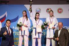 Каратистки Татарстана – чемпионы России