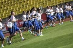 «Фартовость новой формы проверим на бельгийцах». Россияне продолжают подготовку к матчам отбора