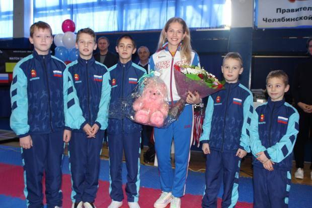 Минспорт области наградил чемпионку Европы Татьяну Кудашову