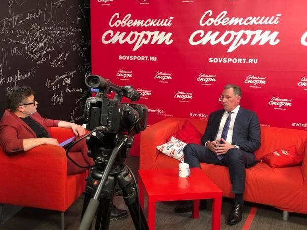 Станислав Поздняков стал гостем пресс-центра «Советского спорта»