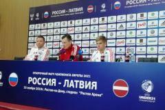 Молодежная сборная РФ рассказала о готовности к игре с латвийцами в Ростове