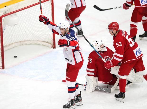 ЦСКА не хватило двух быстрых голов. Чемпион дожал «Витязь» лишь в овертайме