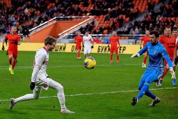 «Спартак» создал моментов на два матча. Но не смог забить ни разу