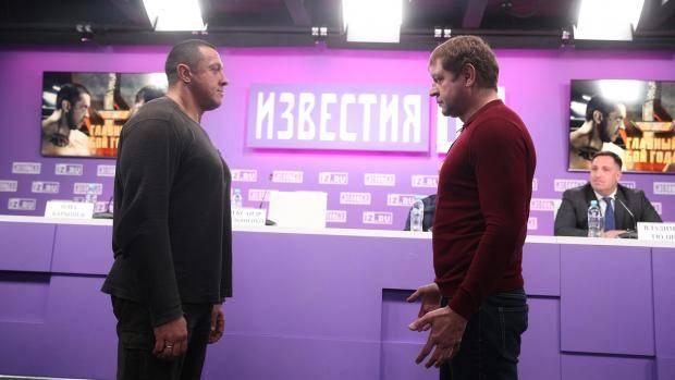 Александр Емельяненко согласился набой сбоксером Чахкиевым поправилам MMA