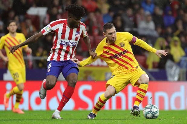 Футбола было меньше, чем грубости, но Месси опять спас «Барселону»