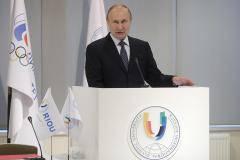 Владимир Путин: Университет призван объединить спортсменов