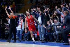 Джеймс все испортил. Джеймс все исправил. ЦСКА вырвал победу у «Жальгириса»