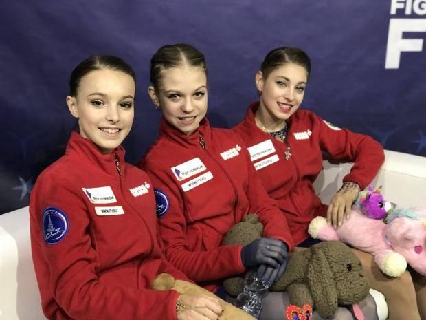Русский Матч Звезд Мира. Косторная, Щербакова и Трусова заняли весь пьедестал Гран-при