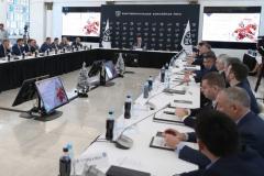 Выставочные матчи НХЛ в России не нужны. Что обсуждали руководители клубов КХЛ