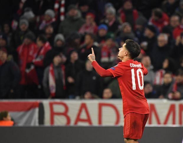 «Тоттенхэм» уступил «Баварии», но вышел в плей-офф Лиги чемпионов