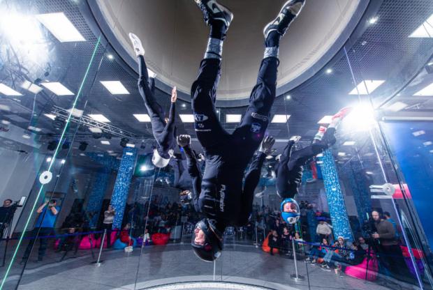 Лезгинка в свободном полете: в Чечне прошел чемпионат России по аэротрубным дисциплинам