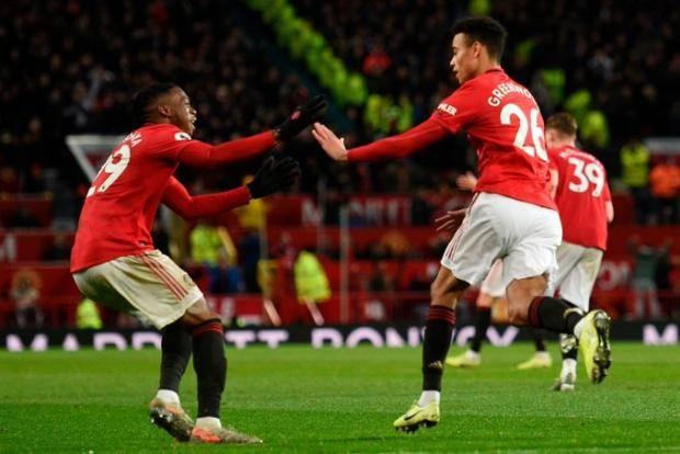 Гол Гринвуда спас «Манчестер Юнайтед» от поражения в матче с «Эвертоном»